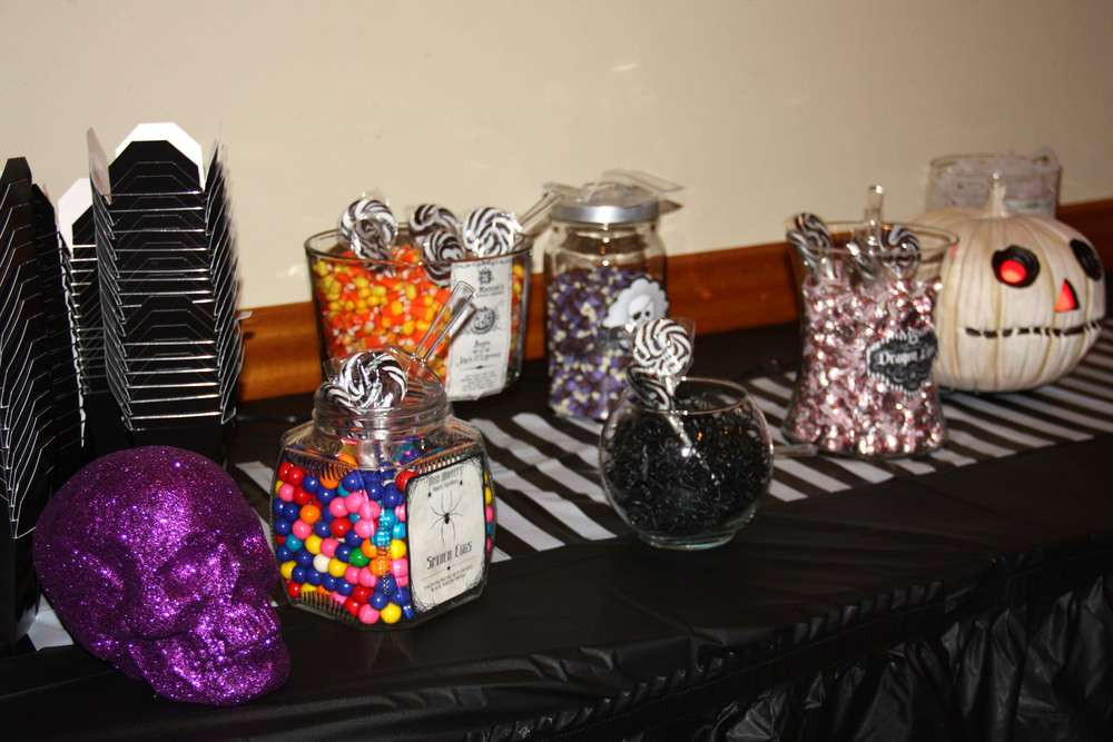 Best ideas about Nightmare Before Christmas Birthday Decorations . Save or Pin Nightmare Before Christmas Birthday Party Ideas Now.