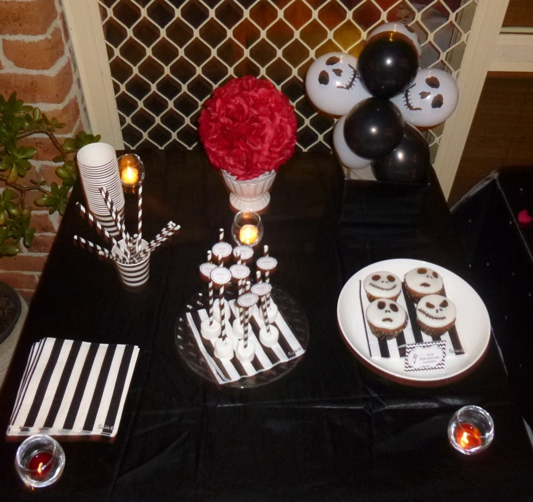 Best ideas about Nightmare Before Christmas Birthday Decorations . Save or Pin Tim Burton Movies 21st Birthday Alice in Wonderland Now.