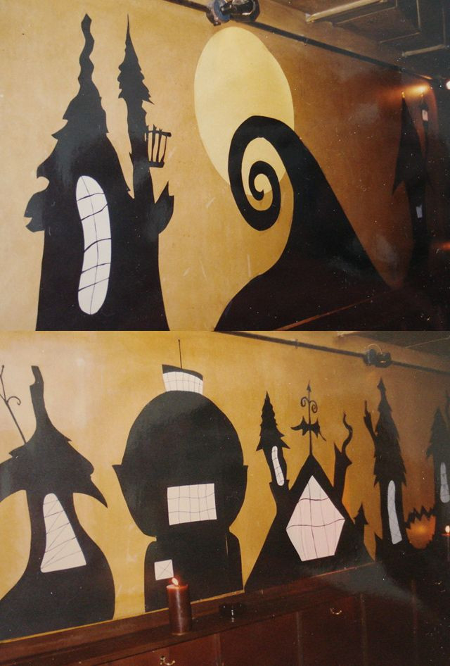 Best ideas about Nightmare Before Christmas Decorations DIY . Save or Pin DIY Nightmare Before Christmas wall decals You CAN do Now.