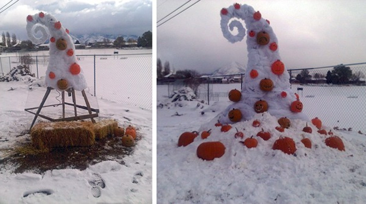 """Best ideas about Nightmare Before Christmas Decorations DIY . Save or Pin """"Nightmare Before Christmas"""" Yard Decor Now."""