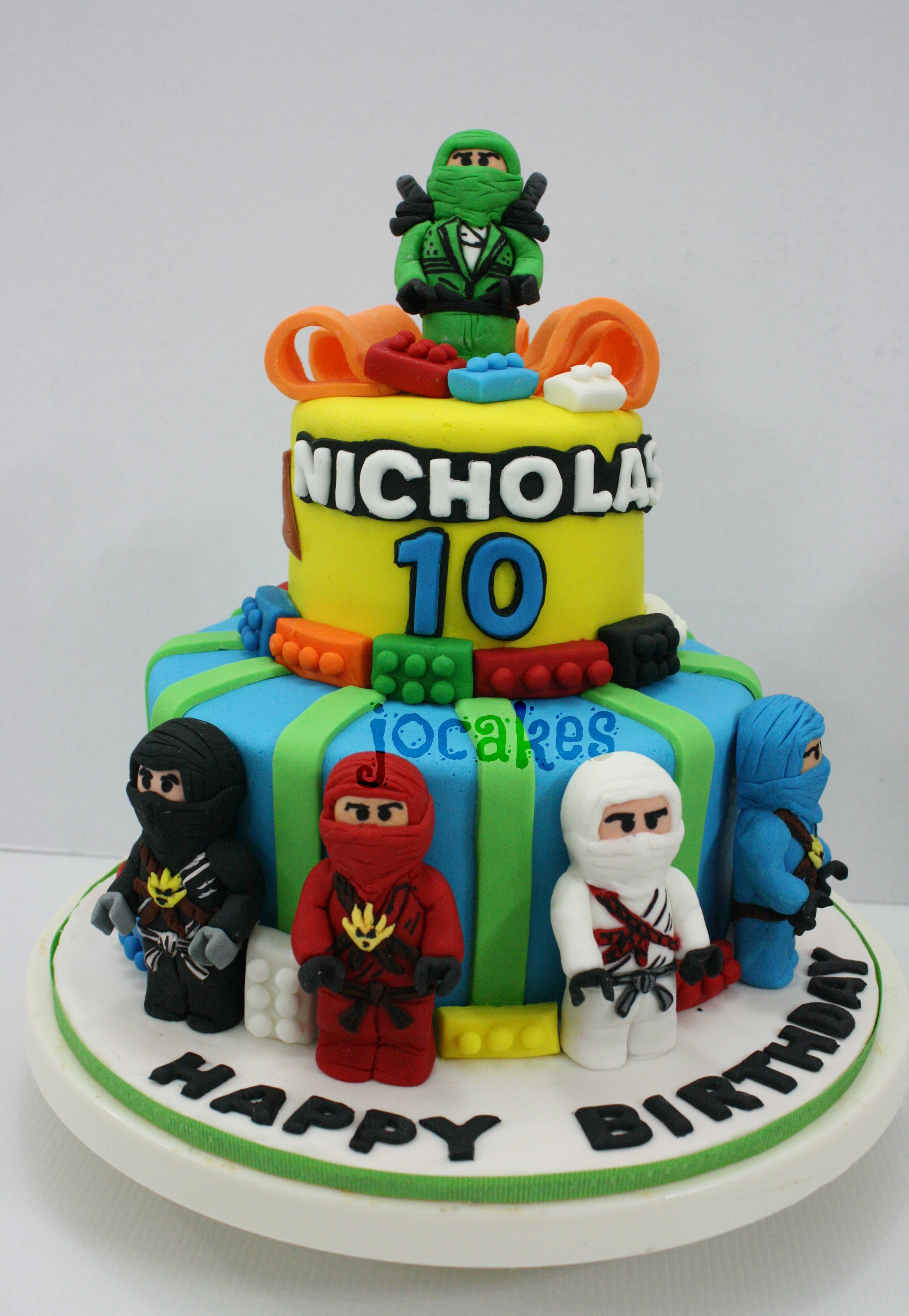 Best ideas about Ninjago Birthday Cake . Save or Pin lego ninjago cake jocakes Now.