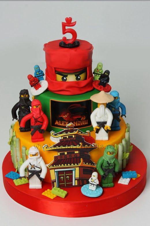 Best ideas about Ninjago Birthday Cake . Save or Pin Lego Ninjago pentru Alexandru cakes for boys Now.