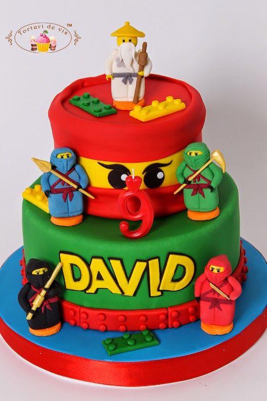 Best ideas about Ninjago Birthday Cake . Save or Pin Tort Lego Ninjago pentru David Now.