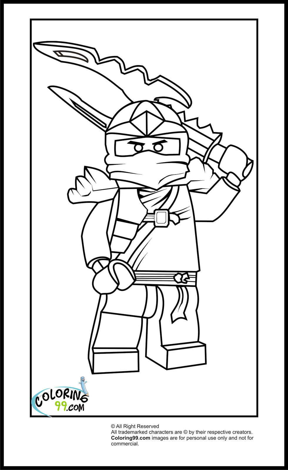 Best ideas about Ninjago Coloring Pages For Kids . Save or Pin Lego Ninjago Coloring Pages Free Printable Now.