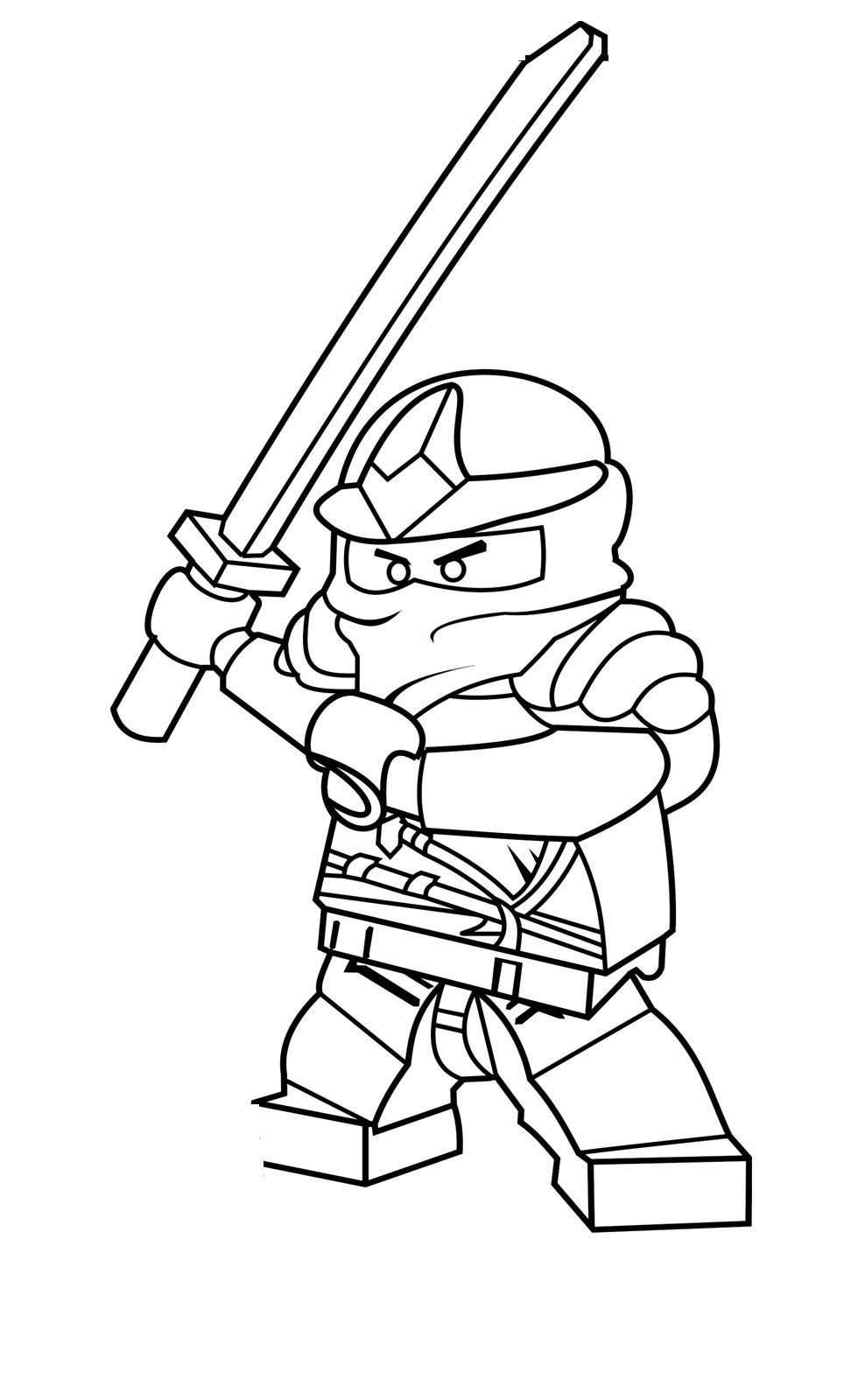 Best ideas about Ninjago Coloring Pages For Kids . Save or Pin Free Printable Ninjago Coloring Pages For Kids Now.
