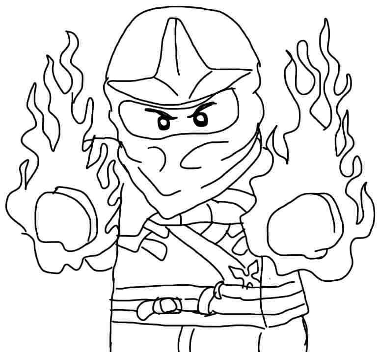 Best ideas about Ninjago Coloring Pages For Kids . Save or Pin Ninjago Coloring Page Kai Coloring Home Now.