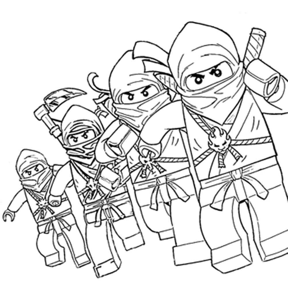 Best ideas about Ninjago Coloring Pages For Kids . Save or Pin Free Printable Lego Ninjago Coloring Pages Coloring Home Now.