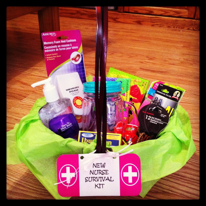 "Best ideas about Nurse Gift Basket Ideas . Save or Pin The Terrific Teacher DIY New Nurse ""Survival Kit"" Now."