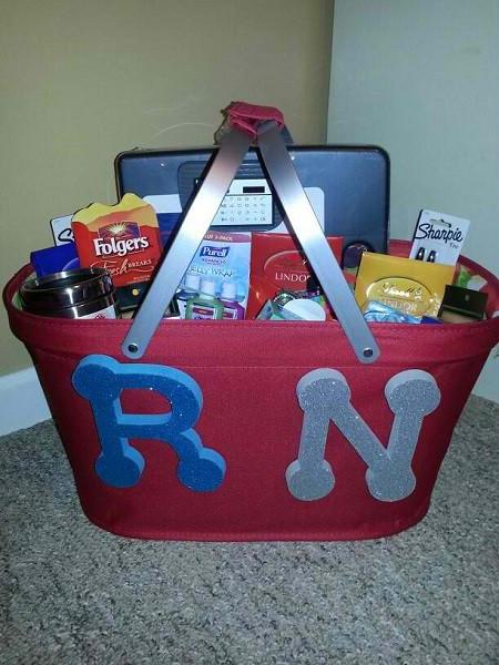 Best ideas about Nurse Grad Gift Ideas . Save or Pin 16 Awesome Nurse Gift Basket Ideas NurseBuff Now.
