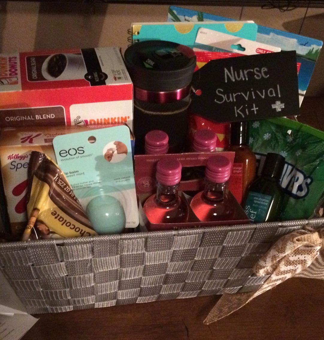 Best ideas about Nurse Grad Gift Ideas . Save or Pin Nurse survival kit Graduation t Now.