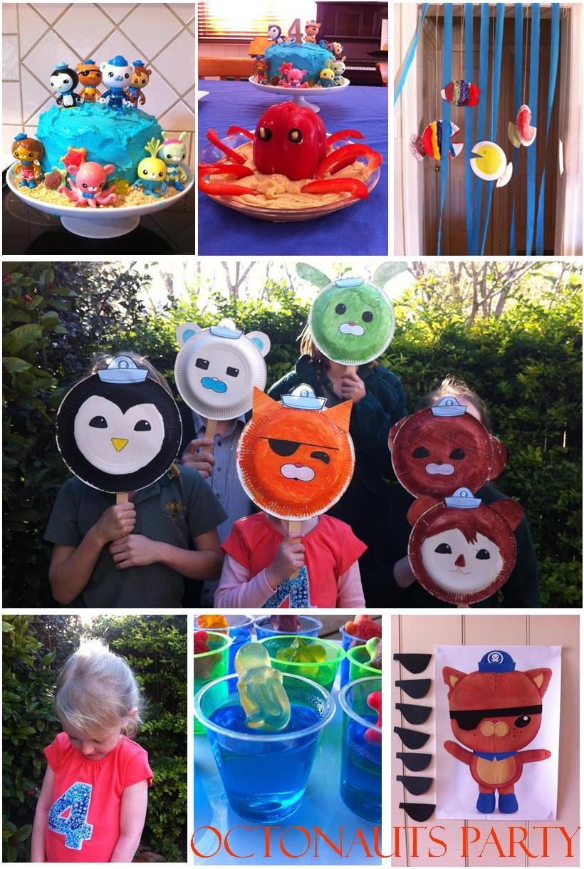 Best ideas about Octonaut Birthday Party Supplies . Save or Pin This girl loves to talk  OCTONAUTS Party Now.