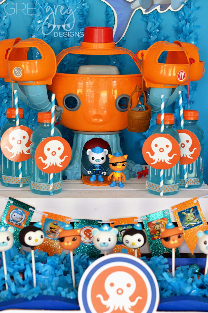 Best ideas about Octonaut Birthday Party Supplies . Save or Pin GreyGrey Designs My Parties Octonauts Party with Now.