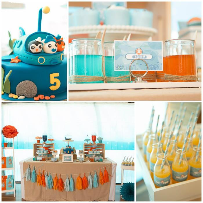 Best ideas about Octonaut Birthday Party Supplies . Save or Pin Kara s Party Ideas Octonauts Party Now.