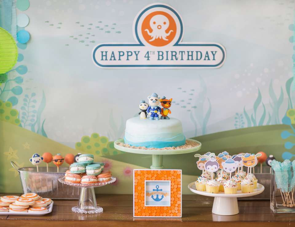 """Best ideas about Octonaut Birthday Party Supplies . Save or Pin Octonauts Birthday """"Octonaut s Birthday Party"""" Now."""