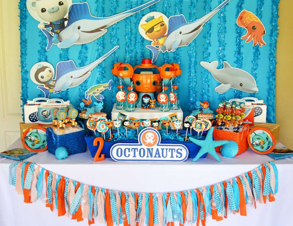 """Best ideas about Octonaut Birthday Party Supplies . Save or Pin Octonauts Birthday """"Octonauts Party"""" Now."""