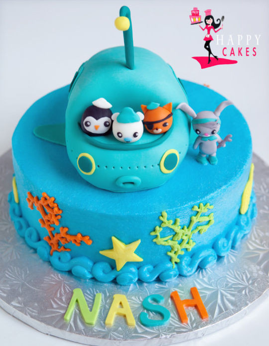 Best ideas about Octonaut Birthday Party Supplies . Save or Pin Octonauts Cake by Happy CakesDecor Now.