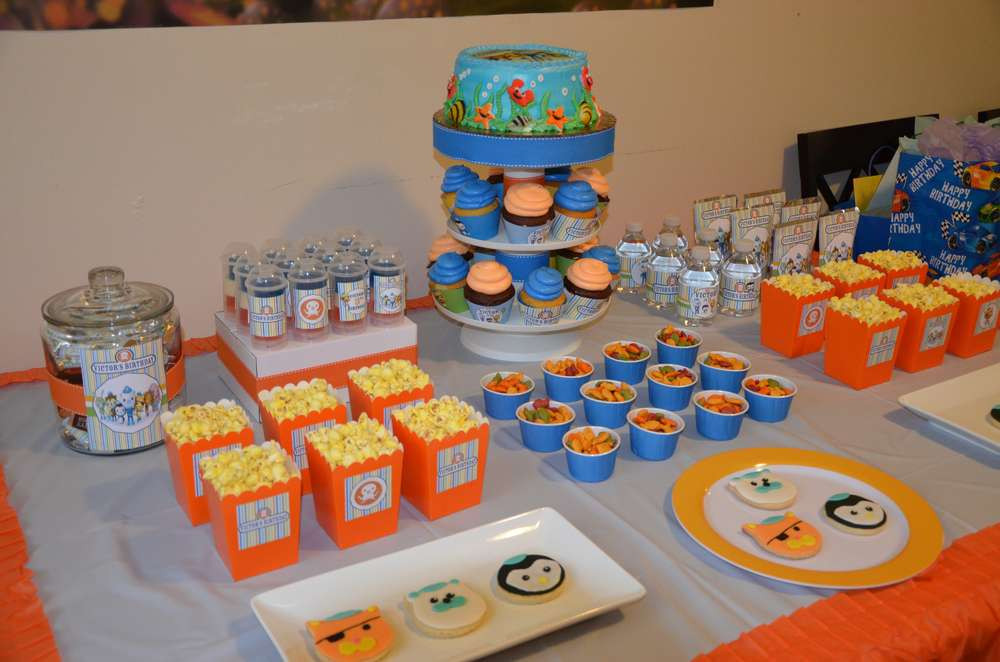 Best ideas about Octonaut Birthday Party Supplies . Save or Pin Octonauts Birthday Party Ideas 1 of 17 Now.