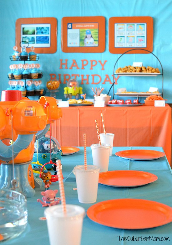 Best ideas about Octonaut Birthday Party Supplies . Save or Pin Octonauts Birthday Party Decorations Ideas DIY Party Now.