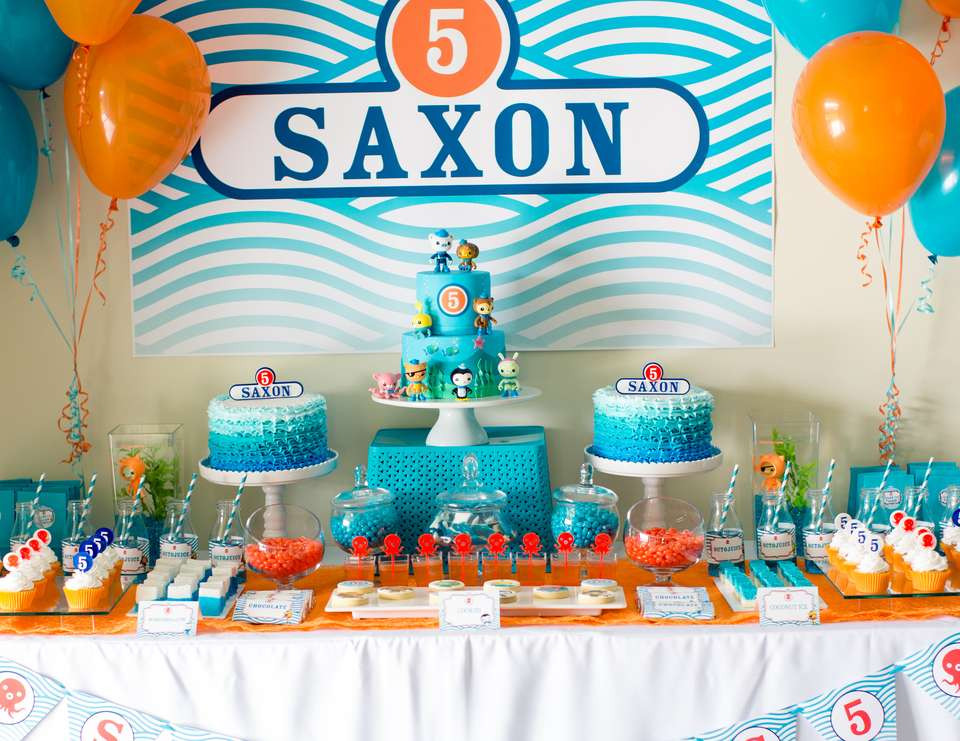 """Best ideas about Octonaut Birthday Party Supplies . Save or Pin Octonauts Birthday """"Saxon s 5th Birthday"""" Now."""