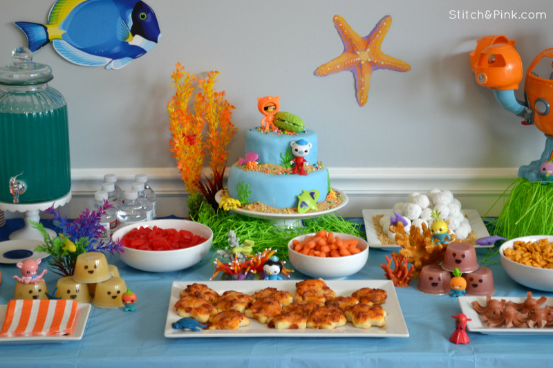 Best ideas about Octonaut Birthday Party Supplies . Save or Pin Quick & Easy Octonauts Birthday Party Stitch and Pink Now.