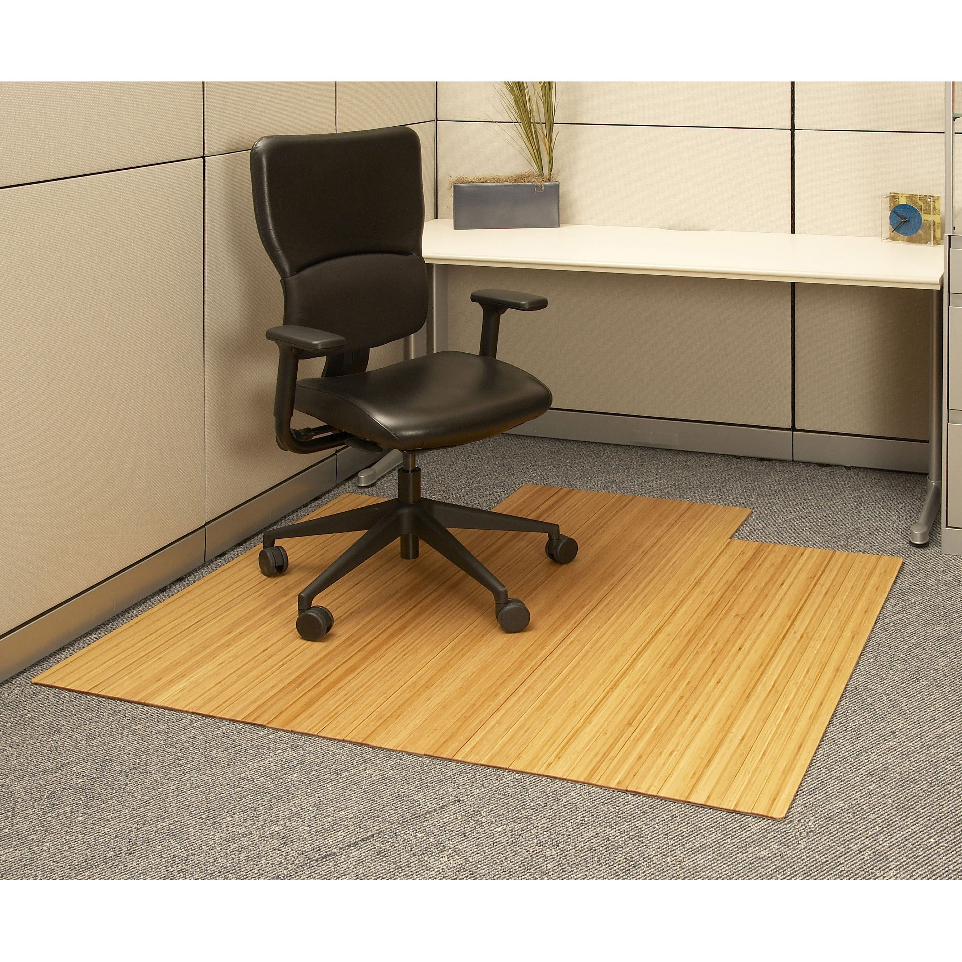 Best ideas about Office Chair Mats . Save or Pin Natural 55 x 57 Bamboo Roll Up fice Chair Mat fice Now.