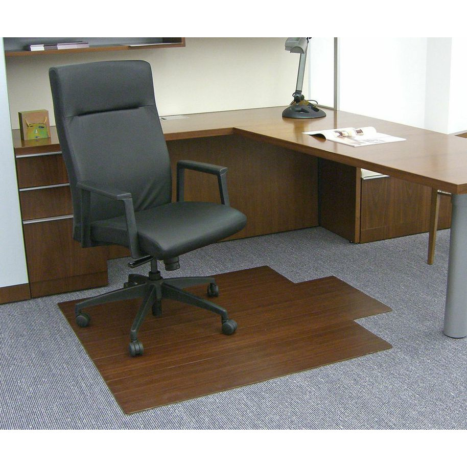 Best ideas about Office Chair Mats . Save or Pin Low Pile and Hardwood Bamboo fice Chair Mat Now.