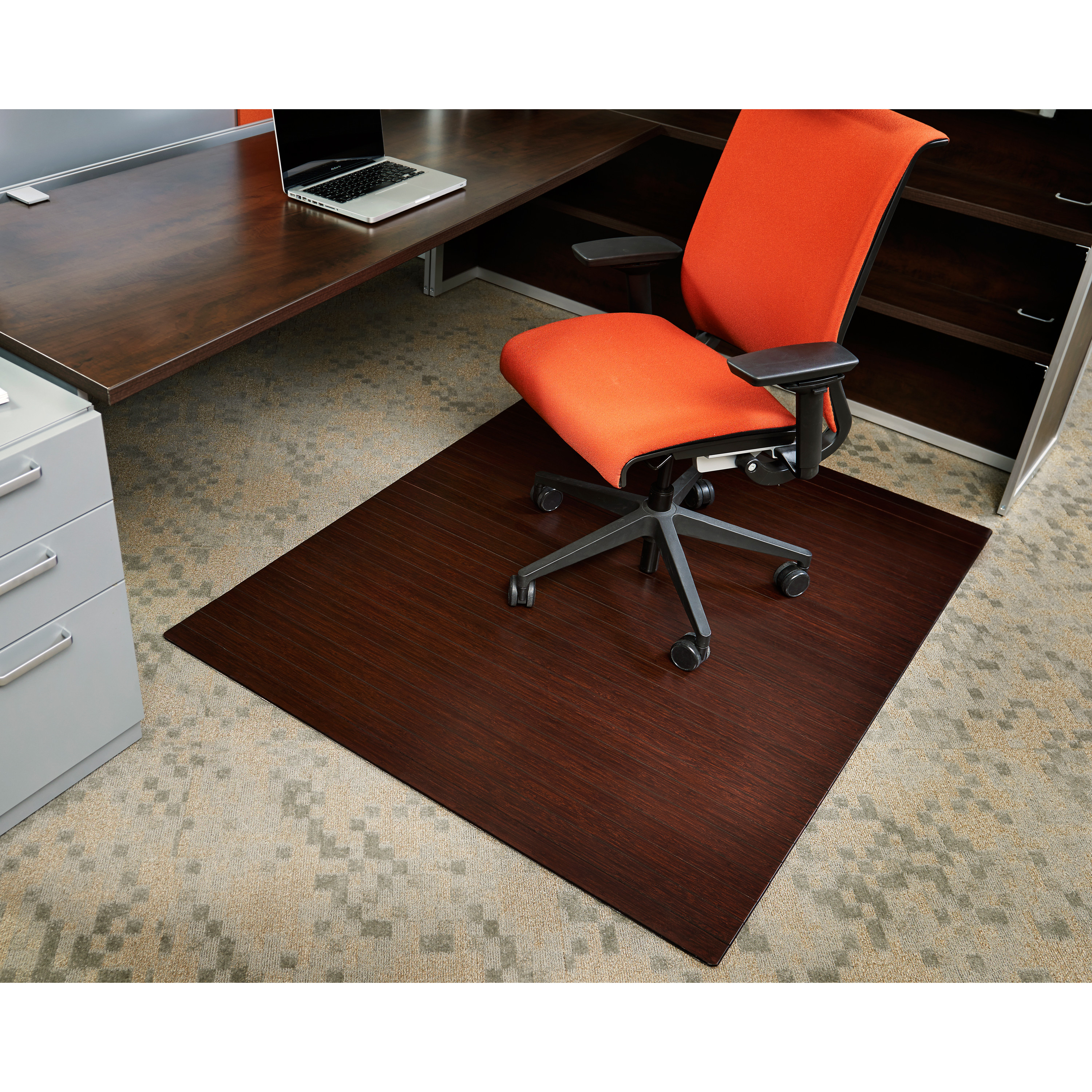Best ideas about Office Chair Mats . Save or Pin Symple Stuff Bamboo Rectangular fice Chair Mat & Reviews Now.
