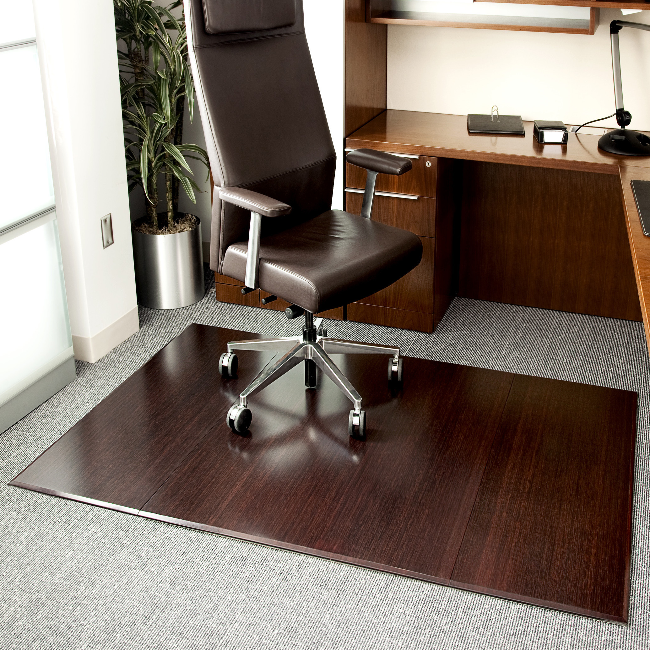 Best ideas about Office Chair Mats . Save or Pin Symple Stuff Beveled Bamboo fice Chairmat & Reviews Now.