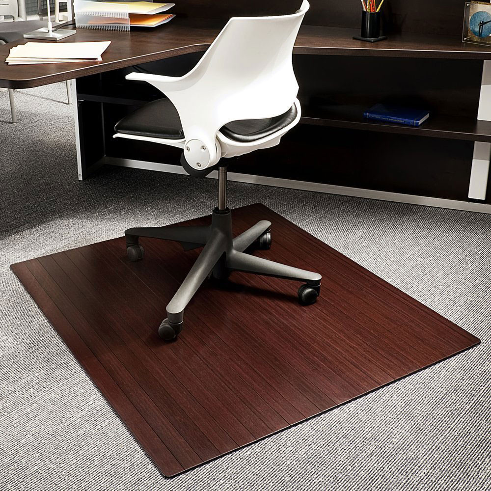 Best ideas about Office Chair Mats . Save or Pin Bamboo fice Chair Mat 42x48 Inch in Chair Mats Now.