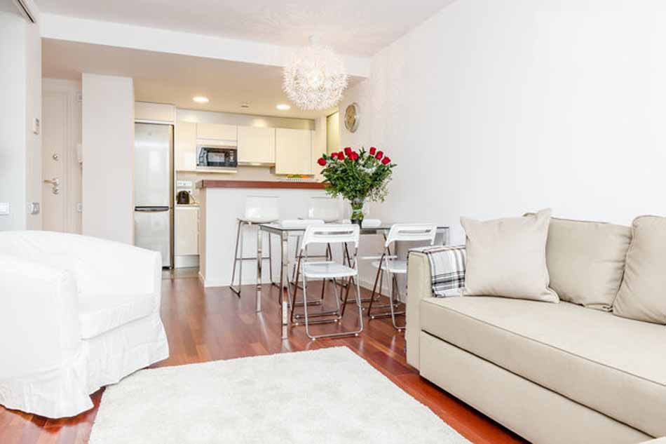 Best ideas about One Bedroom Apartment For Rent . Save or Pin Furnished one bedroom apartment for rent in Barceloneta Now.
