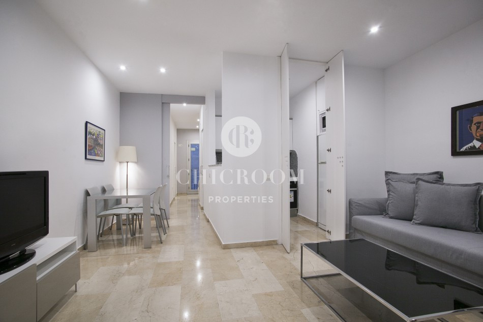 Best ideas about One Bedroom Apartment For Rent . Save or Pin Furnished Luxury Apartment for Rent in El Born Barcelona Now.