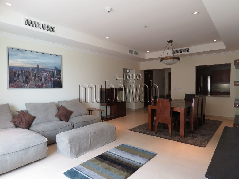 Best ideas about One Bedroom Apartment For Rent . Save or Pin 1 Bedroom Apartment FOR RENT THE PEARL QATAR Mubawab Now.