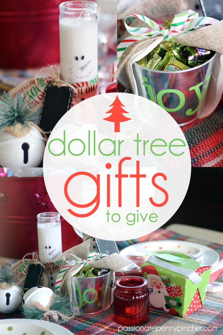 Best ideas about One Dollar Gift Ideas . Save or Pin Best 25 Dollar tree christmas ideas on Pinterest Now.