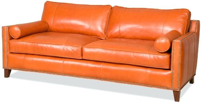 Best ideas about Orange Leather Sofa . Save or Pin Orange Leather Sofa Orange Leather Inspiration Best Sofa Now.