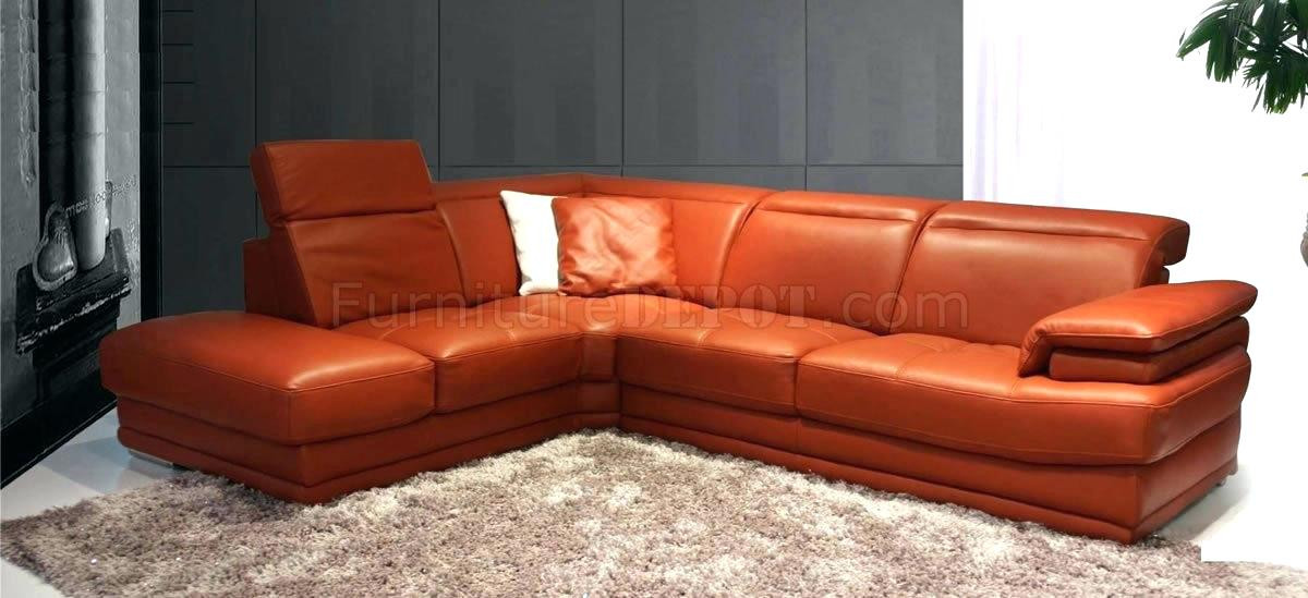 Best ideas about Orange Leather Sofa . Save or Pin Burnt Orange Leather Sofa Set Orange Leather Sofas Bright Now.