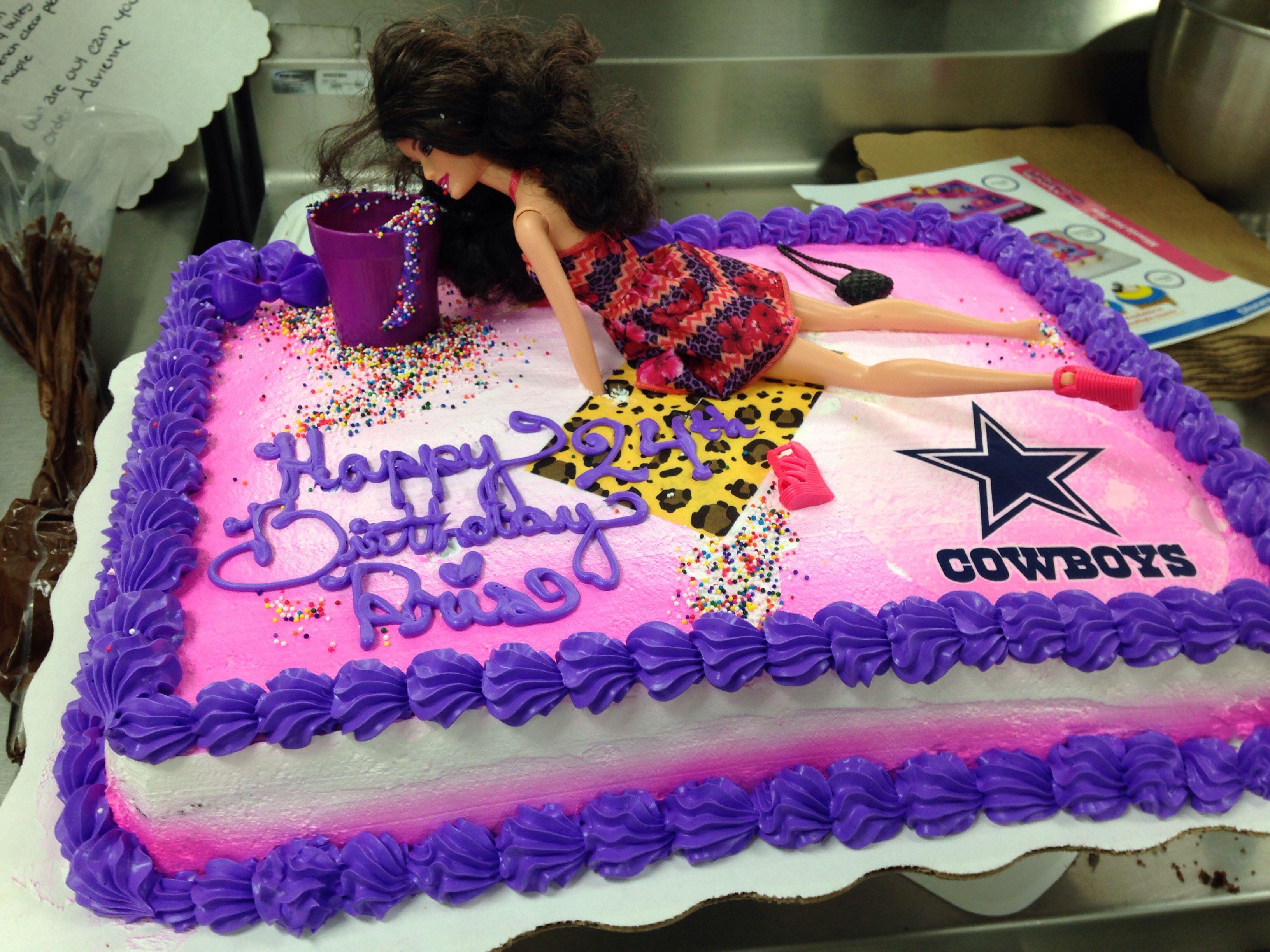Best ideas about Order Birthday Cake Online Walmart . Save or Pin Drunk Barbie cake Walmart cake Walmart cake Custom Now.
