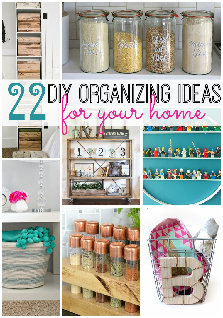 Best ideas about Organization Ideas DIY . Save or Pin 22 DIY Organizing Ideas For Your Home Tatertots and Jello Now.