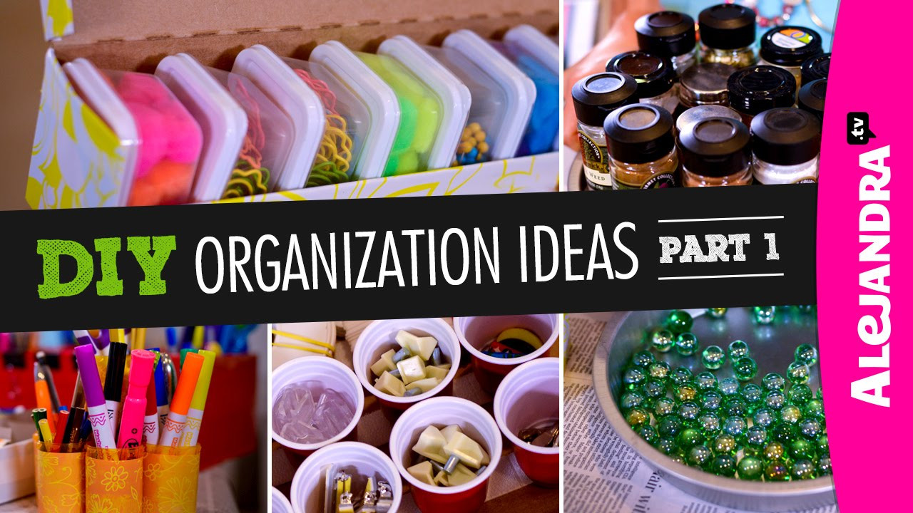 Best ideas about Organization Ideas DIY . Save or Pin DIY Organization Ideas Part 1 Now.