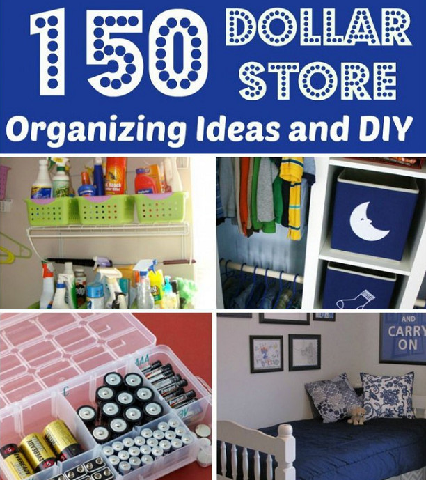 Best ideas about Organization Ideas DIY . Save or Pin Tons Dollar Store Organization and DIY Ideas Now.