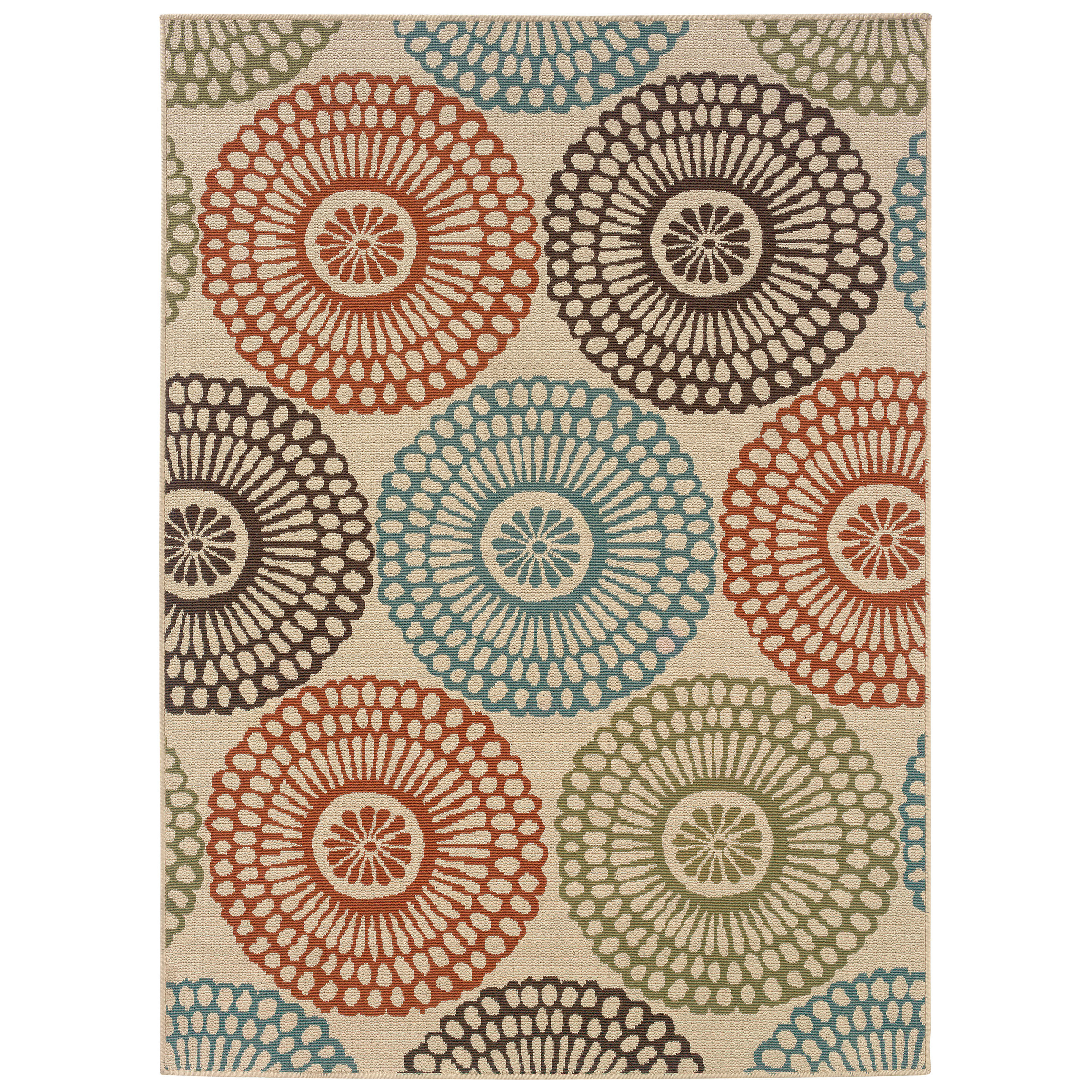 Best ideas about Outdoor Area Rugs . Save or Pin Bungalow Rose Douane Beige Blue Indoor Outdoor Area Rug Now.