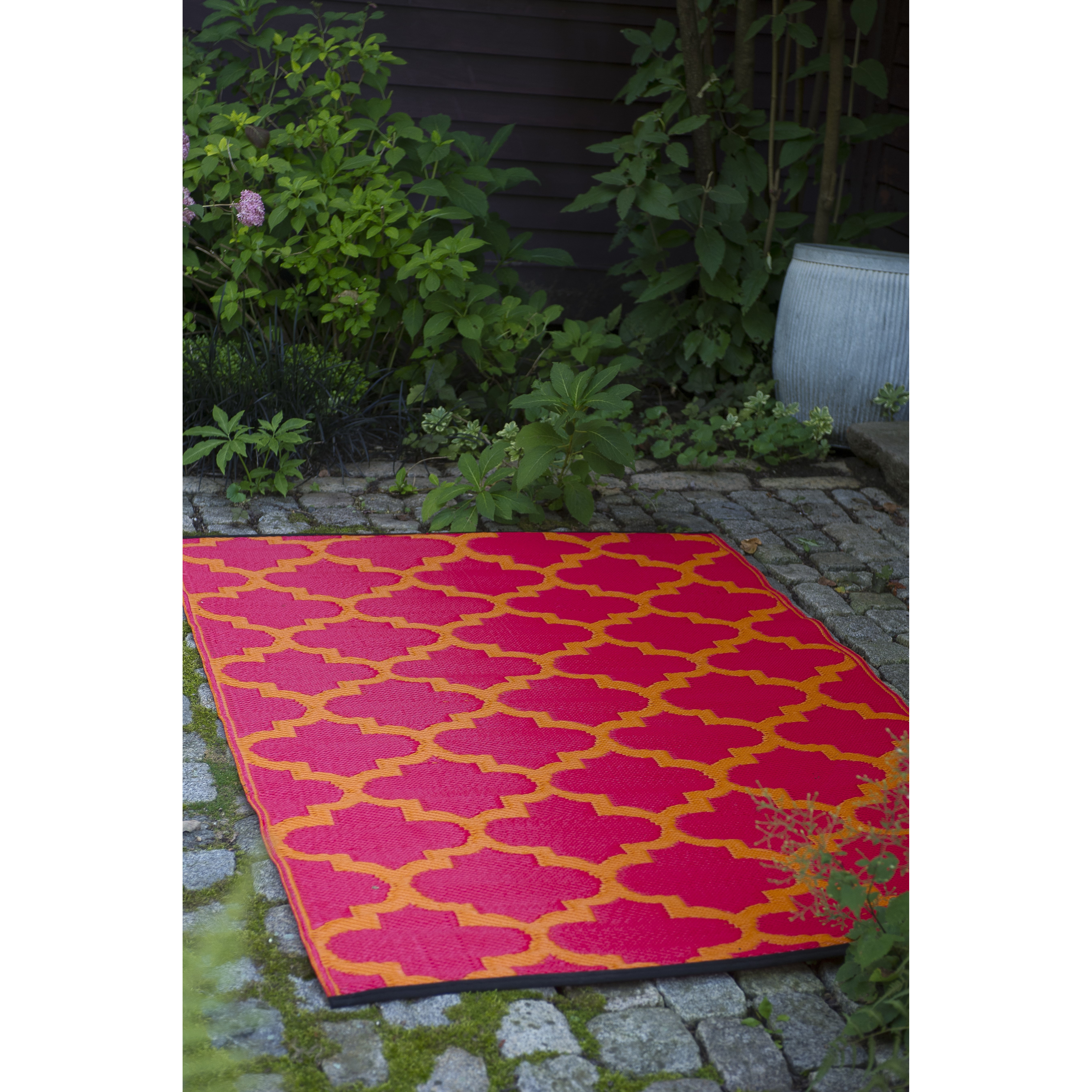 Best ideas about Outdoor Area Rugs . Save or Pin Tangier Orange Peel & Rouge Red World Indoor Outdoor Area Now.