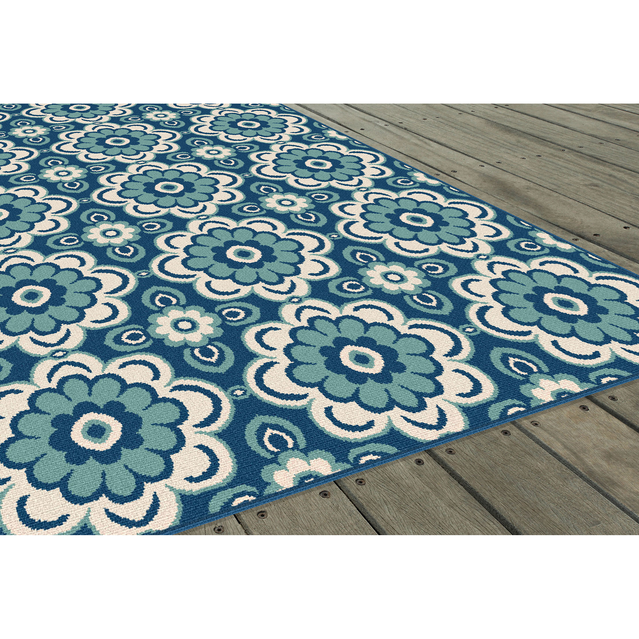 Best ideas about Outdoor Area Rugs . Save or Pin Threadbind Fairhaven Blue Indoor Outdoor Area Rug Now.