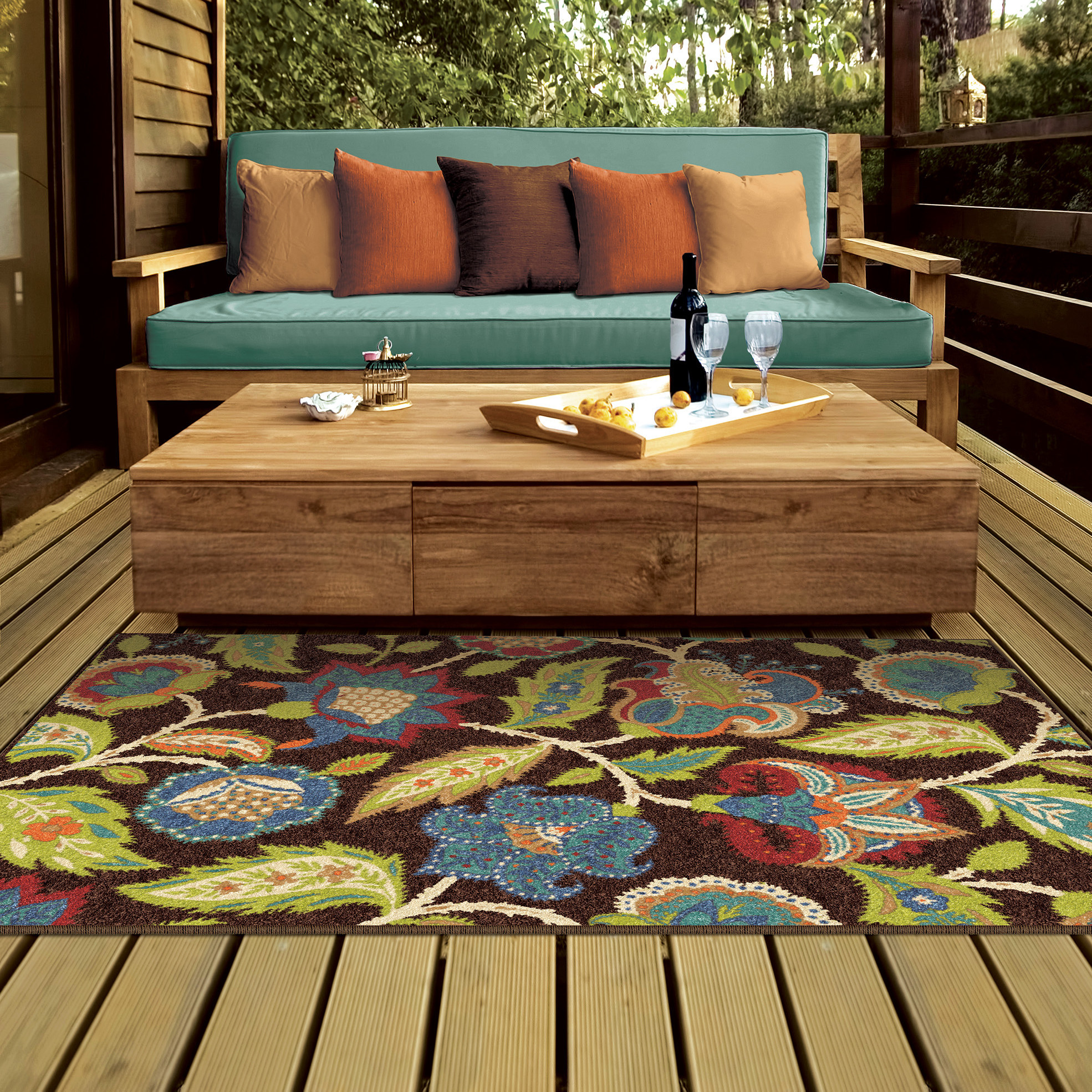 Best ideas about Outdoor Area Rugs . Save or Pin Threadbind Orwell Brown Indoor Outdoor Area Rug & Reviews Now.