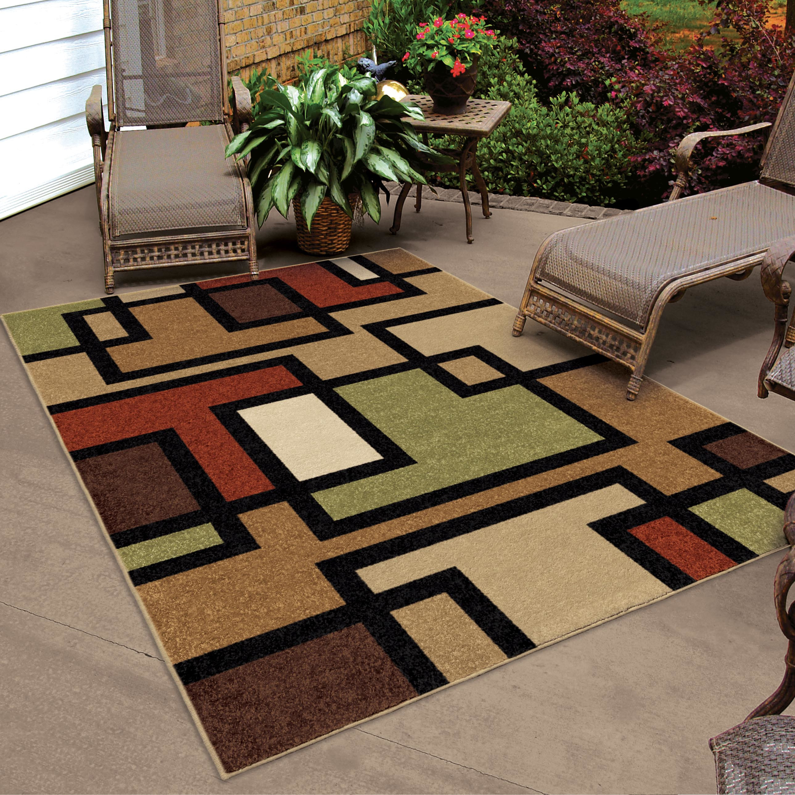 Best ideas about Outdoor Area Rugs . Save or Pin Threadbind Thorne Brown Indoor Outdoor Area Rug & Reviews Now.