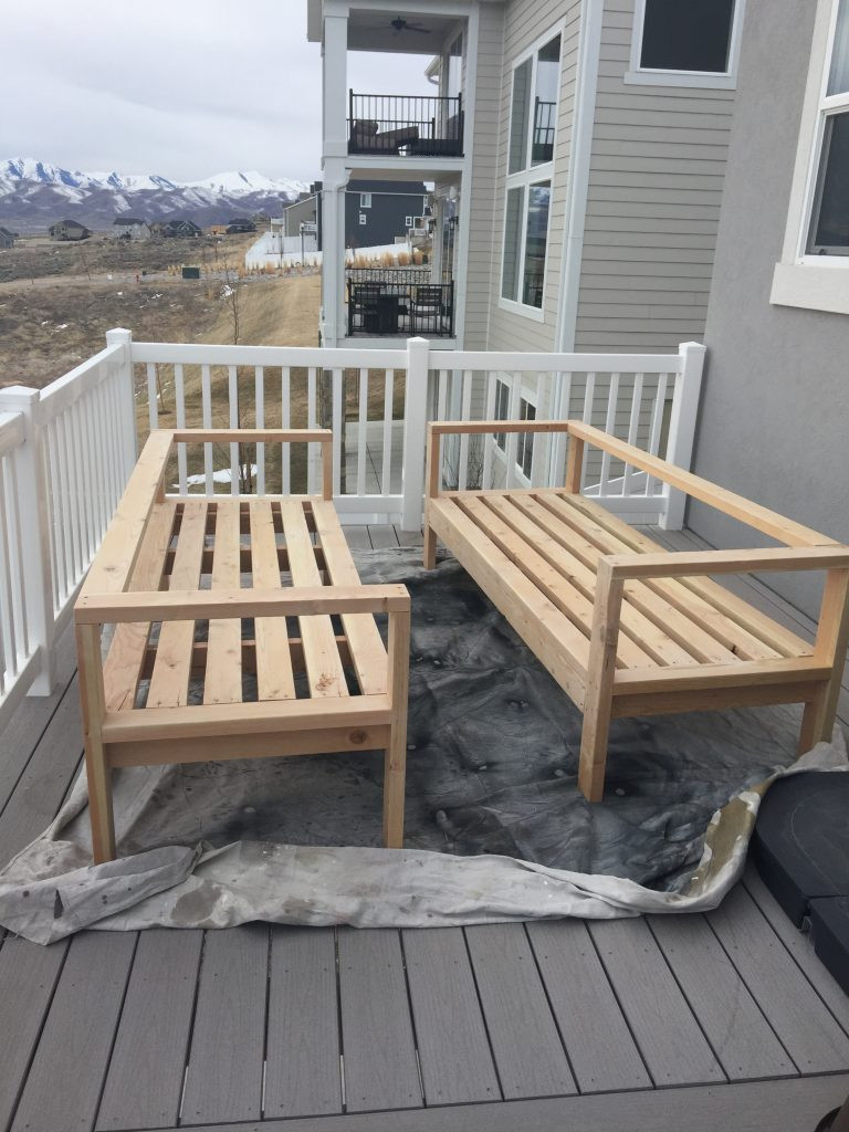 Best ideas about Outdoor Furniture DIY . Save or Pin DIY Outdoor Furniture HoneyBear Lane Now.