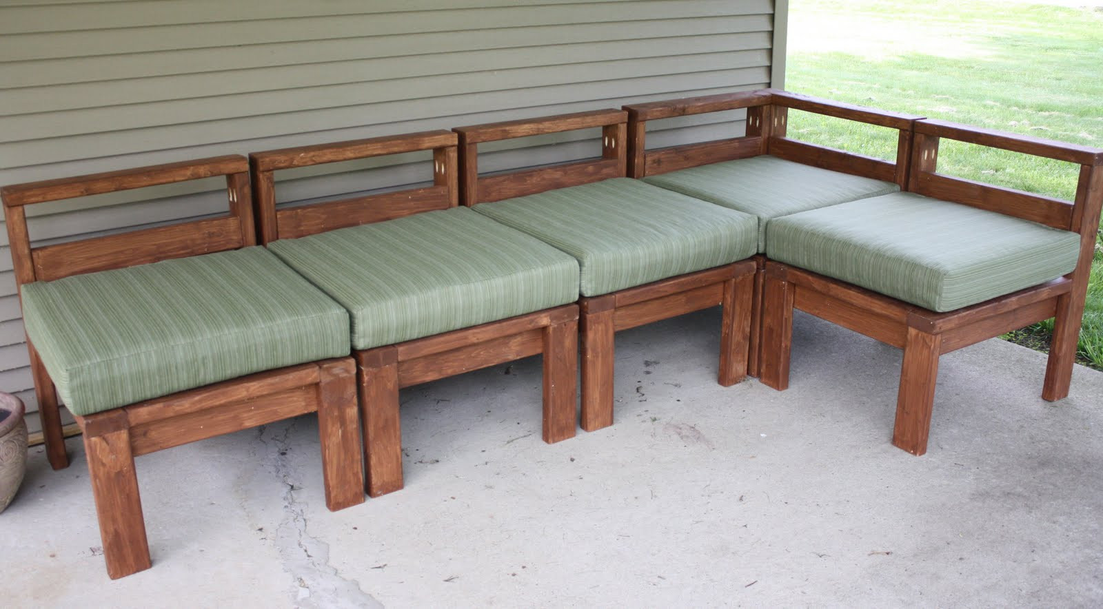 Best ideas about Outdoor Furniture DIY . Save or Pin More Like Home 2x4 Outdoor Sectional Now.
