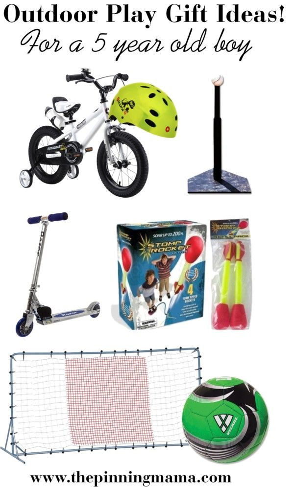 Best ideas about Outdoor Gift Ideas For Boys . Save or Pin Best Outdoor Play Gift Ideas for a 5 Year Old Boy List Now.