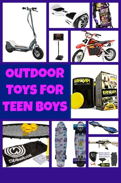 Best ideas about Outdoor Gift Ideas For Boys . Save or Pin Outdoor Toys that Teen Boys Best ts for teen boys Now.