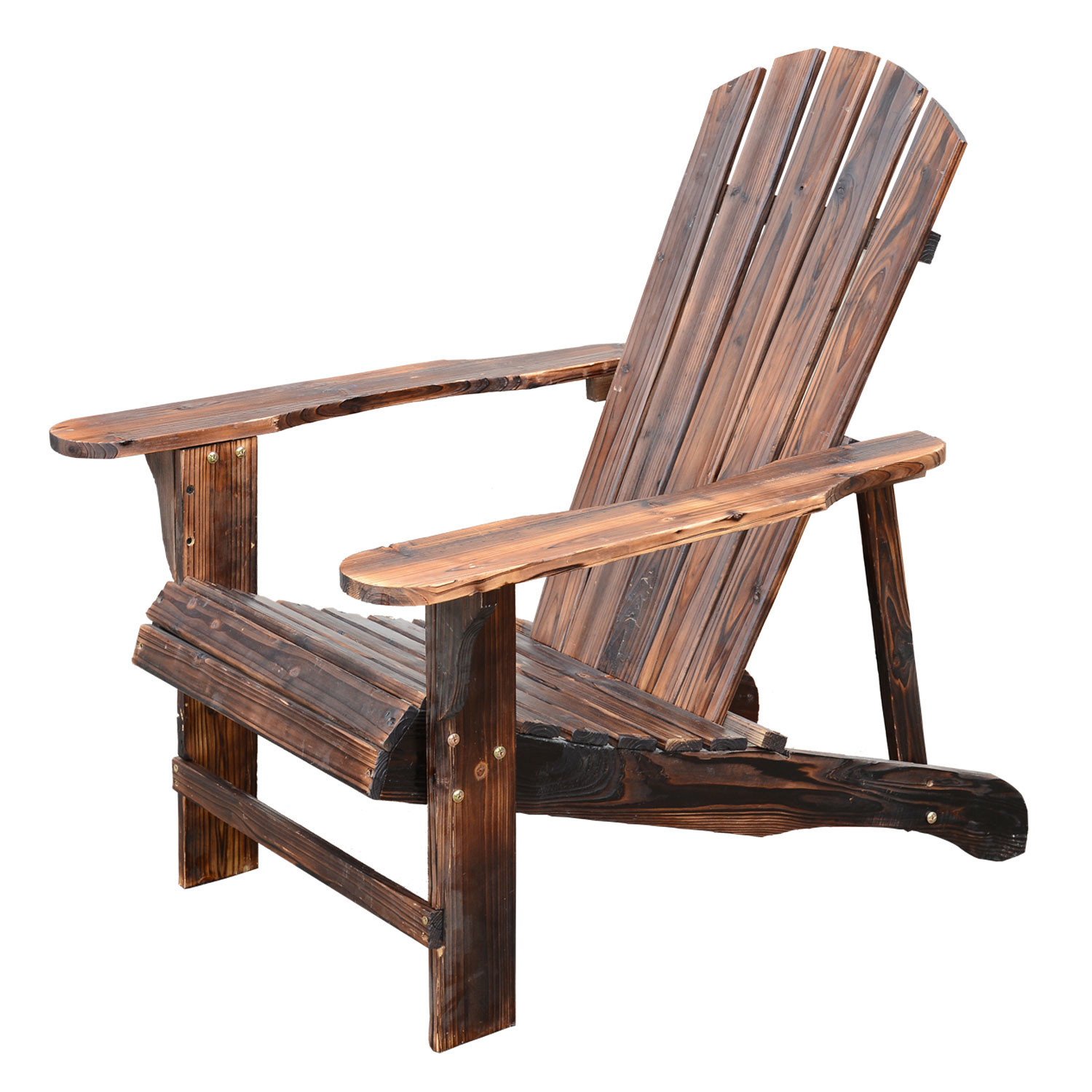 Best ideas about Outdoor Lounge Chairs . Save or Pin Outsunny Wooden Adirondack Outdoor Patio Lounge Chair Now.