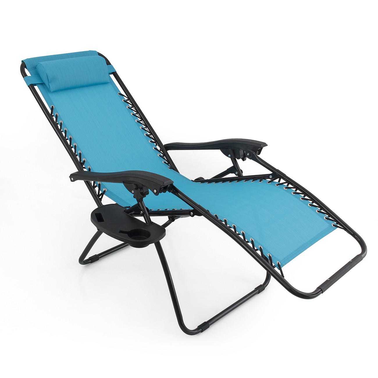 Best ideas about Outdoor Lounge Chairs . Save or Pin 2 Folding Zero Gravity Reclining Lounge Chairs Utility Now.